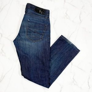 Jack and Jones New Clark Cross Button Fly Jeans